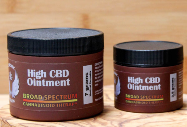 High CBD ointment&Tincture Crop